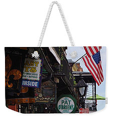 Patriotic Pat Obriens Weekender Tote Bag by Margaret Bobb