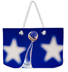 Patriotic Pop Weekender Tote Bag