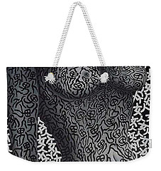 Patterned  Scent Weekender Tote Bag by Fei A