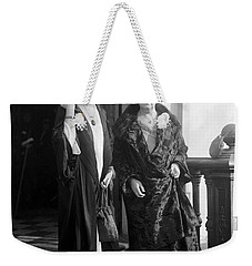 Weekender Tote Bag featuring the photograph Paul & Belmont, 1923 by Granger
