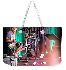 Paul Harvey, Drummer At Grace Weekender Tote Bag