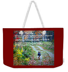 Paw Prints The Calling Weekender Tote Bag