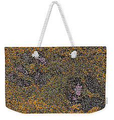 Paw Prints With A Tinge Of Lilac Weekender Tote Bag