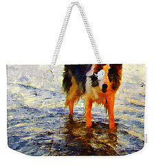 Paws For Thought Weekender Tote Bag