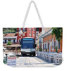 Paxos Island Bus Weekender Tote Bag