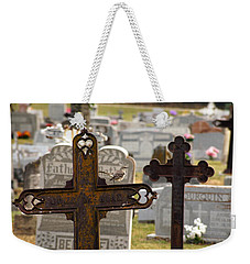 Paying Respect Weekender Tote Bag
