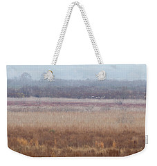 Weekender Tote Bag featuring the photograph Paynes Prairie White Birds by Paul Rebmann