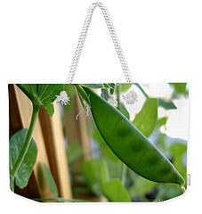 Pea Pod Growing Weekender Tote Bag