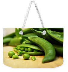 Pea Pods Weekender Tote Bag by Joseph Skompski