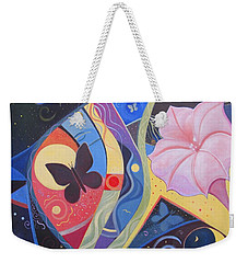 Peace And Flow Weekender Tote Bag