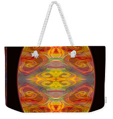 Peace And Harmony Abstract Healing Art Weekender Tote Bag