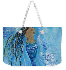 Peace Beneath Weekender Tote Bag by Leslie Allen