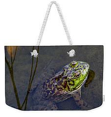 Peace Frog Weekender Tote Bag