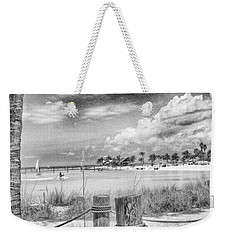 Weekender Tote Bag featuring the photograph Peace by Howard Salmon