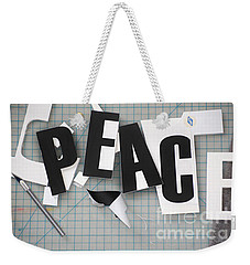Peace In Pieces Weekender Tote Bag