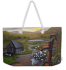 Peace In The Valley Weekender Tote Bag by Sheri Keith