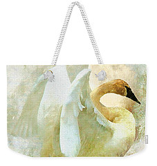 Weekender Tote Bag featuring the photograph Peace by Kathy Bassett