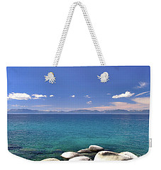 Peace - Lake Tahoe Weekender Tote Bag