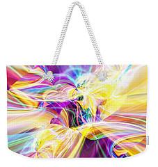 Peace Weekender Tote Bag by Margie Chapman