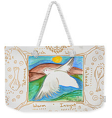 Peace Of Heaven Weekender Tote Bag