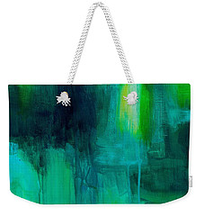 Peace Of Mind Weekender Tote Bag by Tracy Male