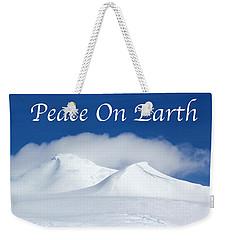 Peace On Earth Card Weekender Tote Bag