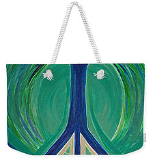 Peace Tree By Jrr Weekender Tote Bag