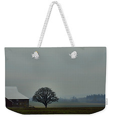 Peaceful Country Morning Weekender Tote Bag by Don Schwartz