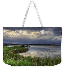 Peaceful Evening At The Lake Weekender Tote Bag