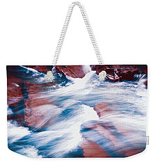 Weekender Tote Bag featuring the photograph Peaceful Flow by Kellice Swaggerty
