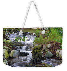Weekender Tote Bag featuring the photograph Moments That Take Your Breath Away by Jordan Blackstone