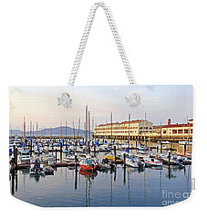 Weekender Tote Bag featuring the photograph Peaceful Marina by Kate Brown