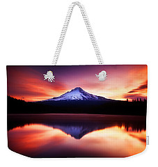 Peaceful Morning On The Lake Weekender Tote Bag