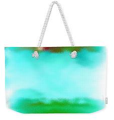 Peaceful Noise Weekender Tote Bag by Anita Lewis