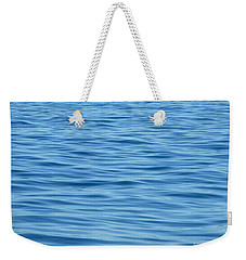 Weekender Tote Bag featuring the photograph Peaceful Ocean Ripples by Kristen Fox