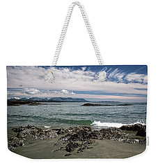 Peaceful Pacific Beach Weekender Tote Bag