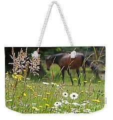 Peaceful Pasture Weekender Tote Bag by Michelle Twohig