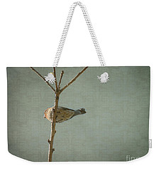 Peaceful Perch Weekender Tote Bag