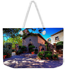 Peaceful Plaza Weekender Tote Bag by Dave Files
