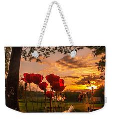 Peaceful Poppy Weekender Tote Bag by Rose-Maries Pictures