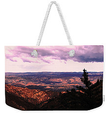 Weekender Tote Bag featuring the photograph Peaceful Valley by Matt Harang