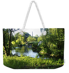 Peaceful Waters Weekender Tote Bag