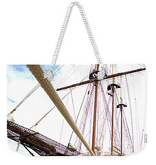Weekender Tote Bag featuring the photograph Peacemaker by Gordon Elwell