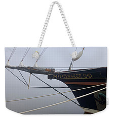 Weekender Tote Bag featuring the photograph Peacemaker by Julia Wilcox