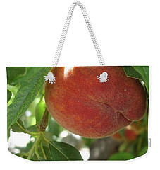 Peach Weekender Tote Bag by Kerri Mortenson