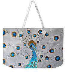 Peacock And Its Beauty Weekender Tote Bag