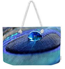 Peacock Globe Weekender Tote Bag