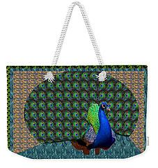 Peacock Graphic Design Based On Photographic Image Artist Navinjoshi Weekender Tote Bag