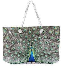Peacock Weekender Tote Bag by John Telfer