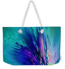 Peacock Paradise Weekender Tote Bag by Tlynn Brentnall